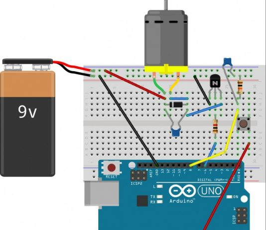Mạch điều khiển tốc độ motor bằng PWM sử dụng arduino